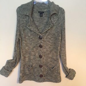 BCBG MaxAzria | Fall Tweed Cardigan XL